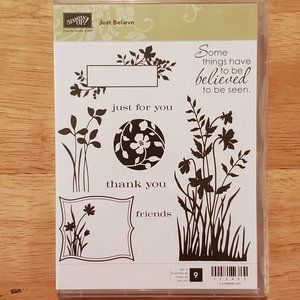 Stampin' Up! - Just Believe Stamp Set